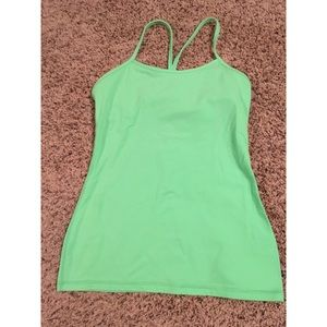 Lululemon size 8 Power Y tank